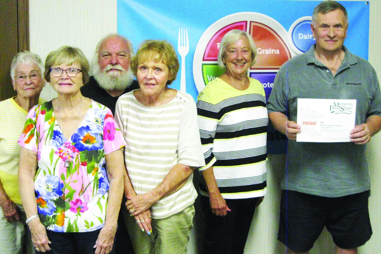 Battle Lake Food Shelf Received State Award