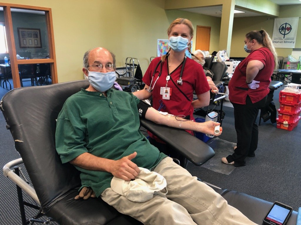 Blood Drives In Ashby, Battle Lake